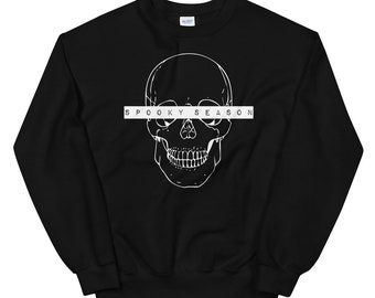 Spooky Season Sweatshirt   Halloween Sweatshirt   Halloween Sweatshirt   W Unisex Sweatshirt   The Creeperie