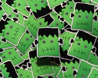 Frankenstein Sticker   Halloween, Spooky Sticker   Cute, Fun Stickers   The Creeperie