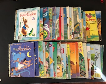 Vintage Little Golden Books Choose One FREE SHIPPING