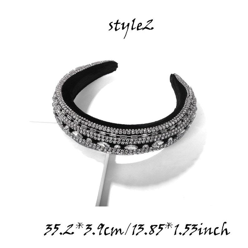 Boho Headband Wedding hair accessories Rhinestones Headband Crystal Headbands Boho S133 Baroque headband Headbands for Women Jeweled