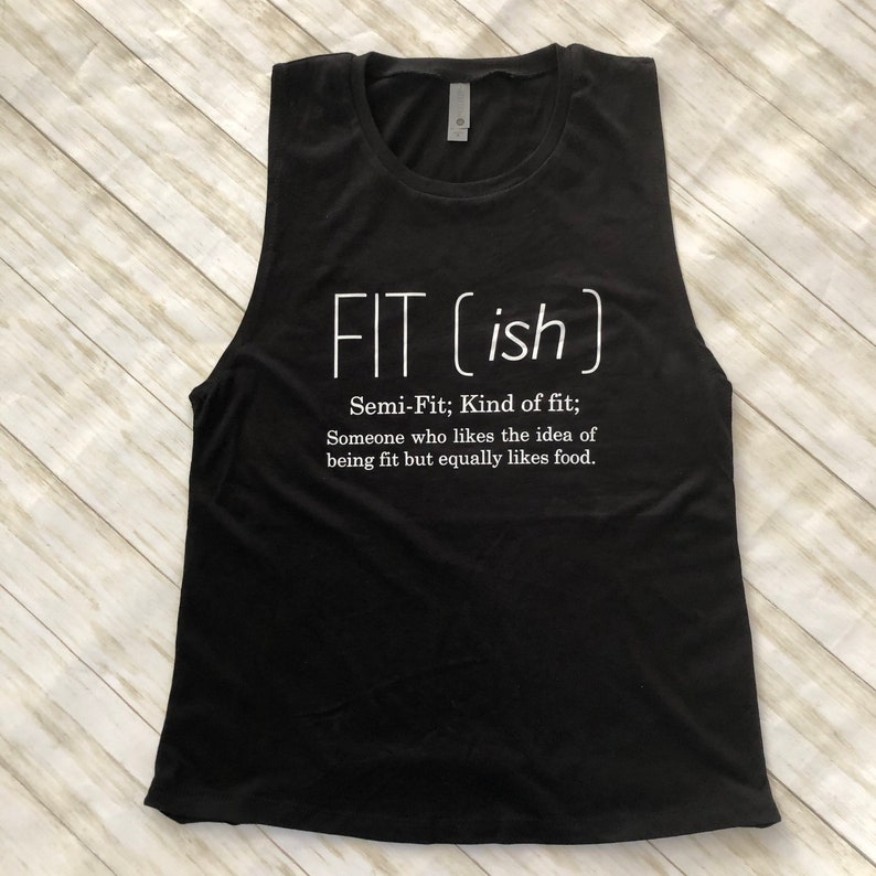 Fitish Women/'s Muscle Tank Top for crossfit gym weightlifting running HIIT