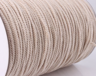 Natural cotton rope | Etsy