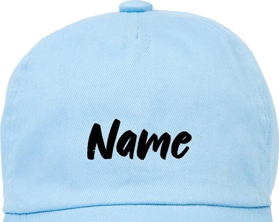 """Kleckerliese Baby Kinder Cap """"Wunschname Name Wunschtext"""" Cap Capy Mütze mit Wunschtext Aufdruck Motiv"""
