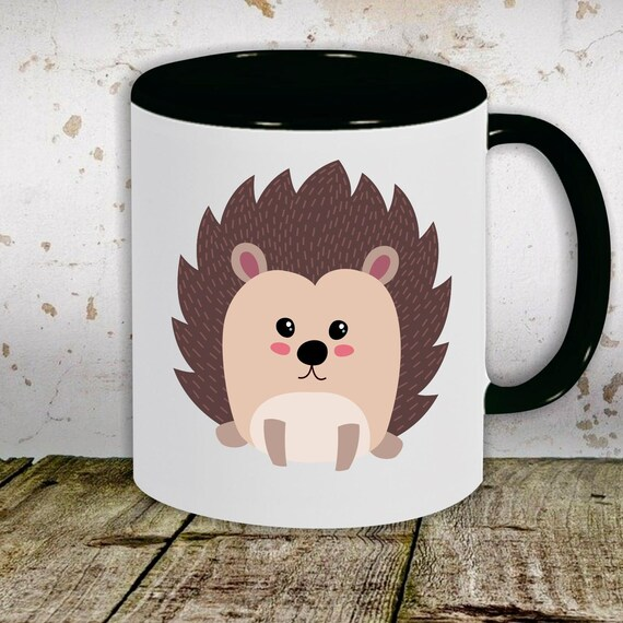 kleckerliese children's cup teacup cup motif hedgehog animal motifs animals with desired name cup cup