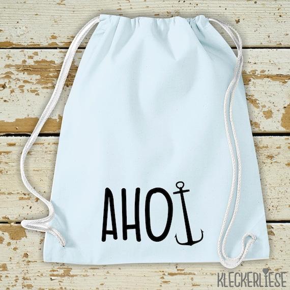 Gym Bag Anchor Ahoi Gym Bag Bag
