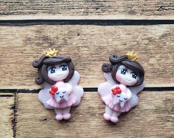 Gansito Claydolls for Bows Jewelry Making Set of 2