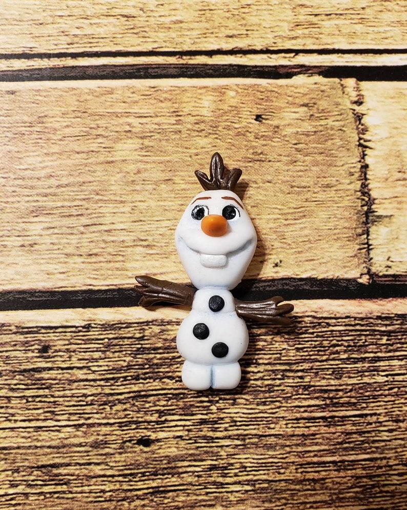 Olaf Clay Doll Ornament