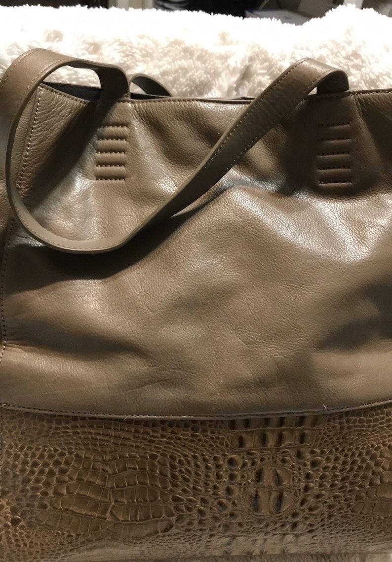 CLAUDIA CIUTI Leather Tote