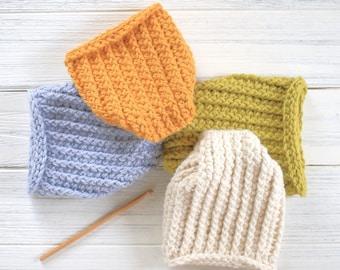 Baby Beanie Pattern - Crochet Baby Hat - Easy Hat Pattern - Newborn Hat Pattern - DIY Baby Hat - Winter Sprout Newborn Hat