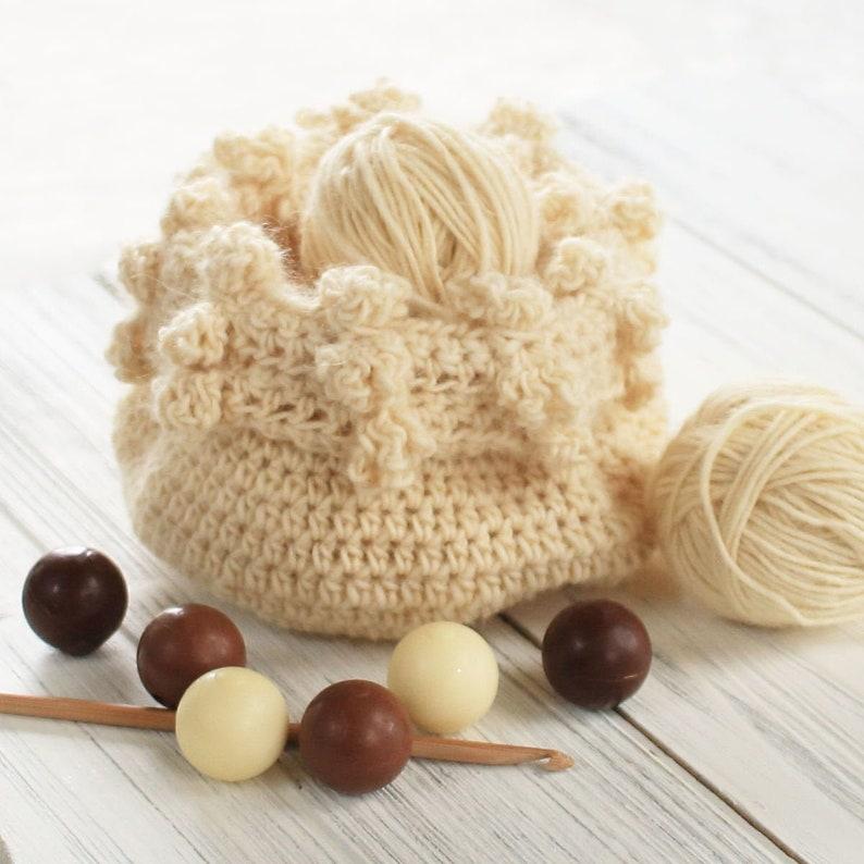 Crochet Pattern  DIY Basket  Crochet Basket Pattern  image 0