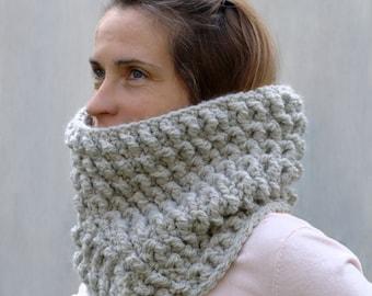 Cowl Pattern / Womens Cowl Scarf Pattern / Crochet Scarf Crochet Pattern / DIY Cowl / DIY Gift for Women - Chrysalis Cowl Crochet Pattern