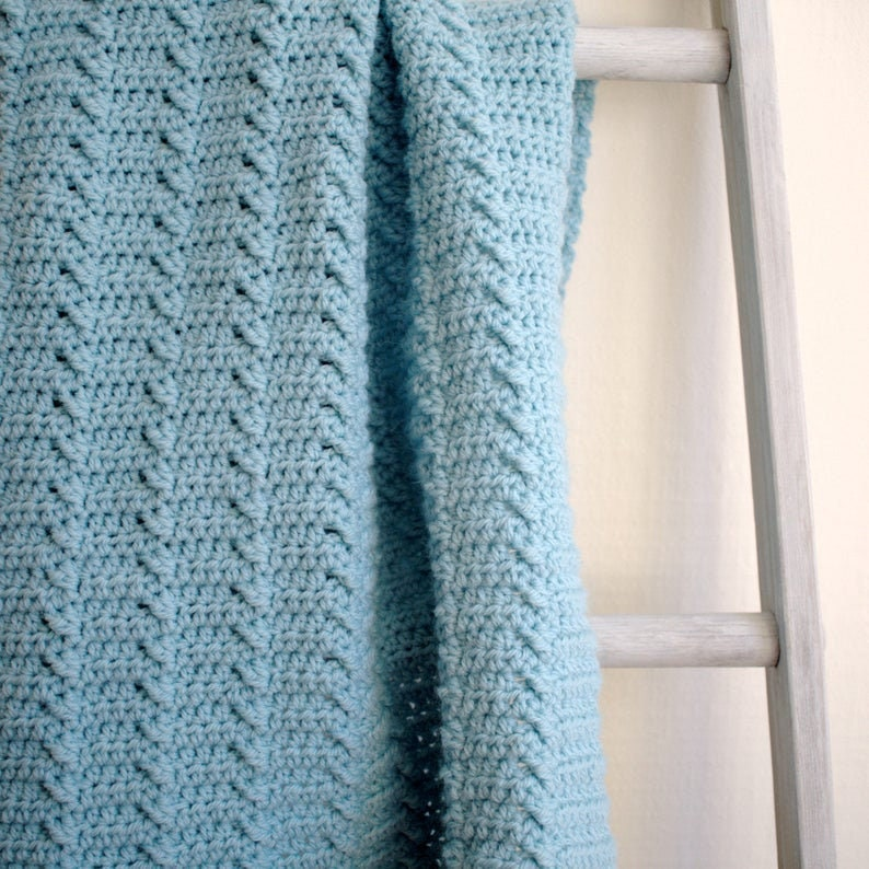 Crochet Blanket Pattern  Baby Blanket Pattern  DIY Crochet image 0