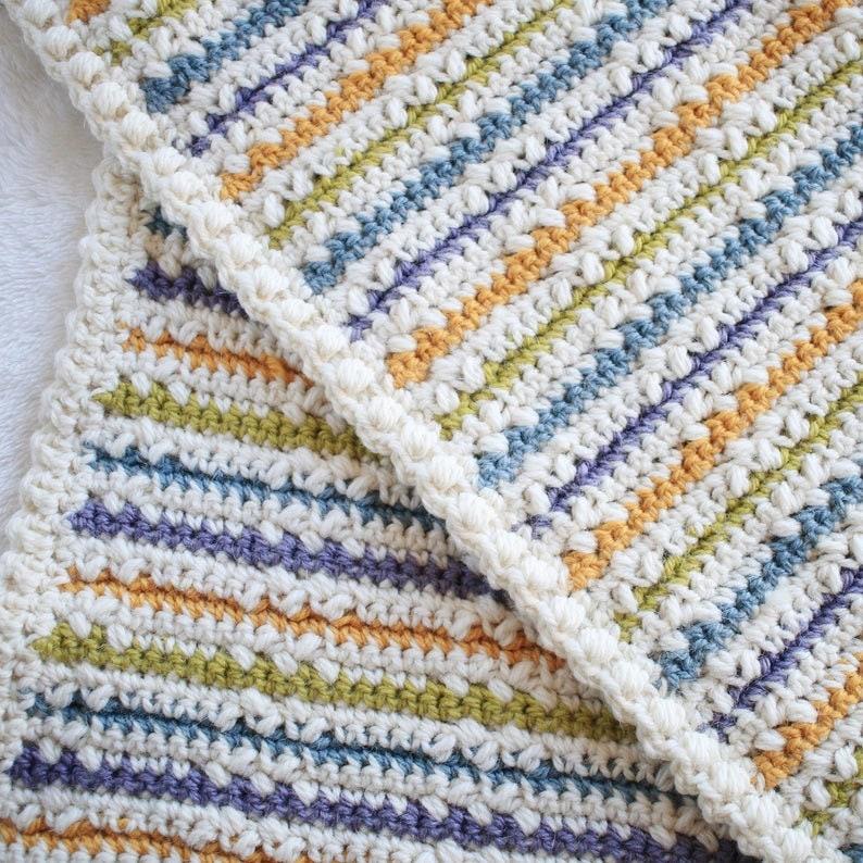 Crochet Blanket Pattern / PDF / DIY Baby Blanket / Afghan image 0