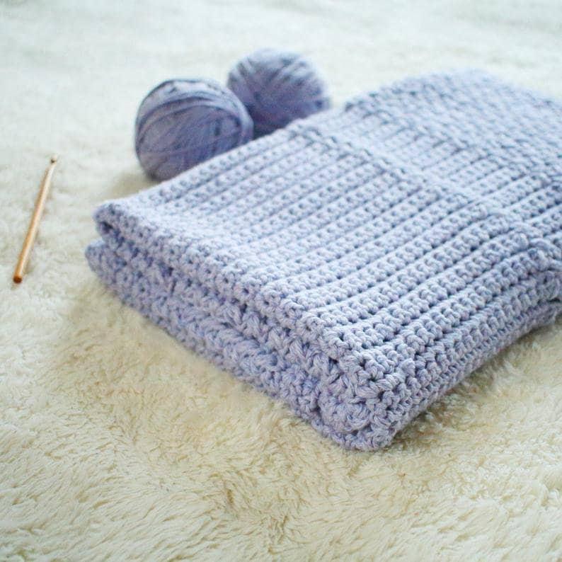 Crochet Pattern  Story Book Baby Blanket Crochet Pattern by image 0