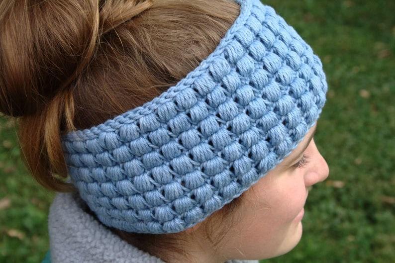 Crochet Pattern Set / Womens Headband Pattern / Scarf Pattern image 0