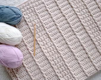 Baby Blanket Crochet Pattern Baby Afghan Pattern DIY Crochet Blanket Pattern New Baby Blanket DIY Gift for Newborn - January Snuggles P128