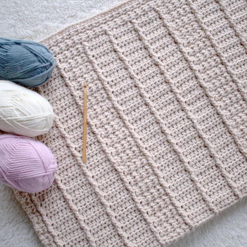 Baby Blanket Crochet Pattern Baby Afghan Pattern DIY Crochet image 0