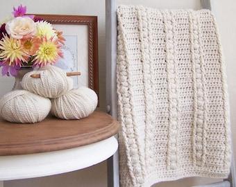 Baby Blanket Pattern Baby Afghan Pattern Crochet Baby Blanket Pattern New Baby Blanket DIY Baby Blanket Easy Crochet - Sweet Haven P124