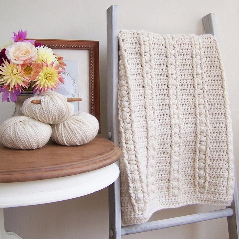 Baby Blanket Pattern Baby Afghan Pattern Crochet Baby Blanket image 0