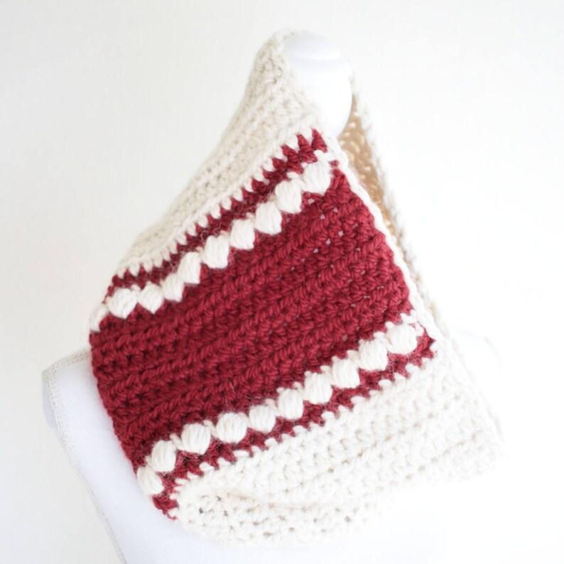 DIY Cowl Scarf Pattern / Scarf Crochet Pattern / DIY Cowl image 0