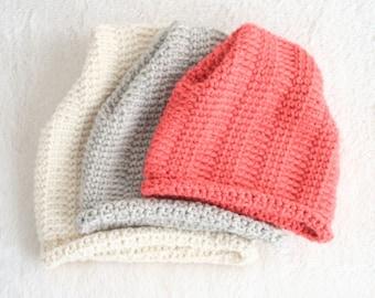 DIY Winter Hat - Hat Pattern - Crochet Beanie Pattern - Childs Crochet Hat Pattern - DIY Christmas Hat - Hill Crest Hat