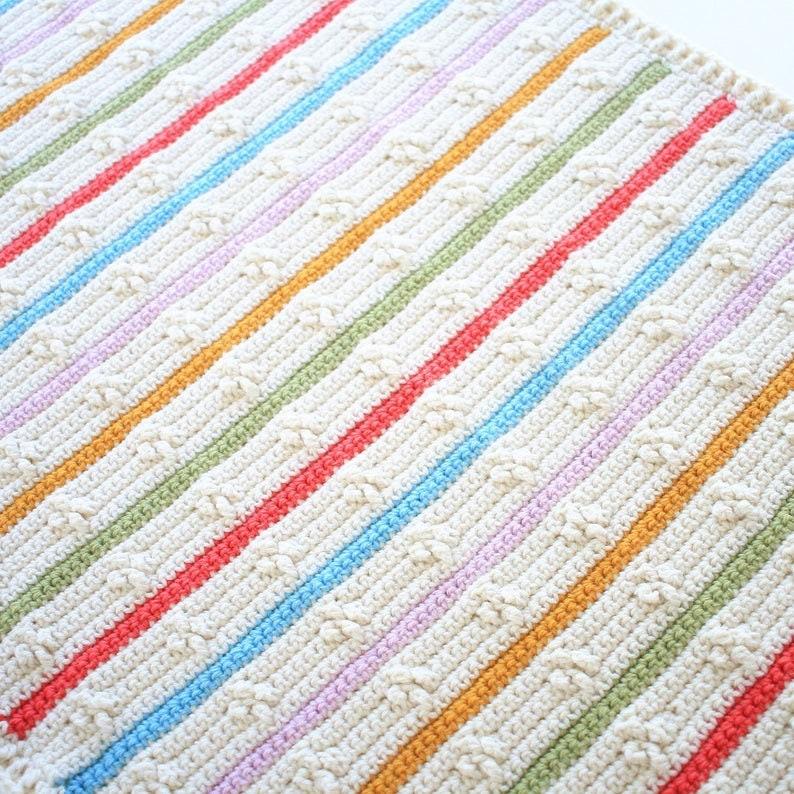 Baby Blanket Pattern / Crochet Pattern / DIY Blanket Pattern / image 0