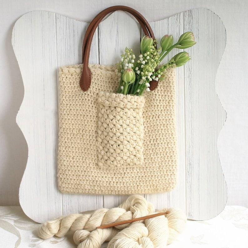 Easy Crochet Bag Pattern / DIY Tote Bag  Eligere Bag image 0