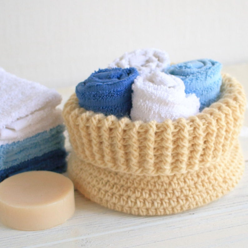 Crochet Pattern  DIY Basket  Crochet Basket Pattern  image 0