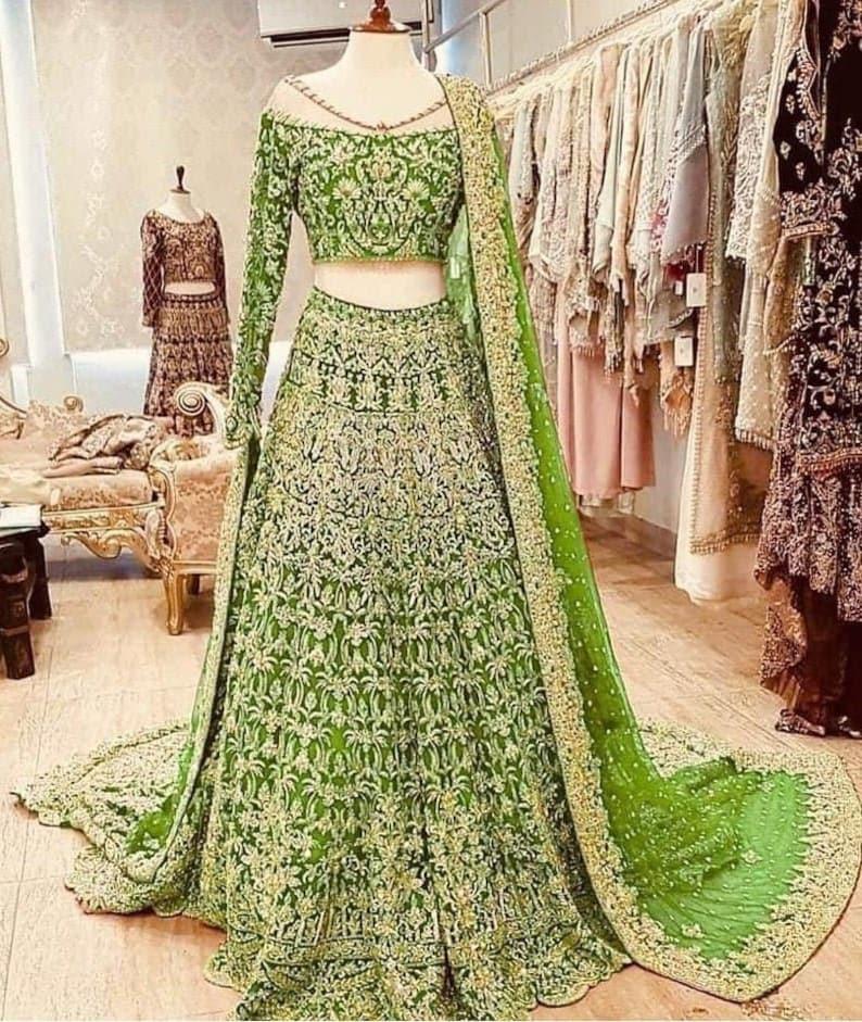 Designer Georgette Lehenga Choli Heavy Embroidered Lehenga Choli Lehenga For Women Party Wear Lehenga Choli