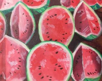 PRINT Watermelon Fine Art Print 8 x 10