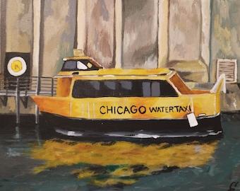 PRINT Chicago Boat 8 x 10