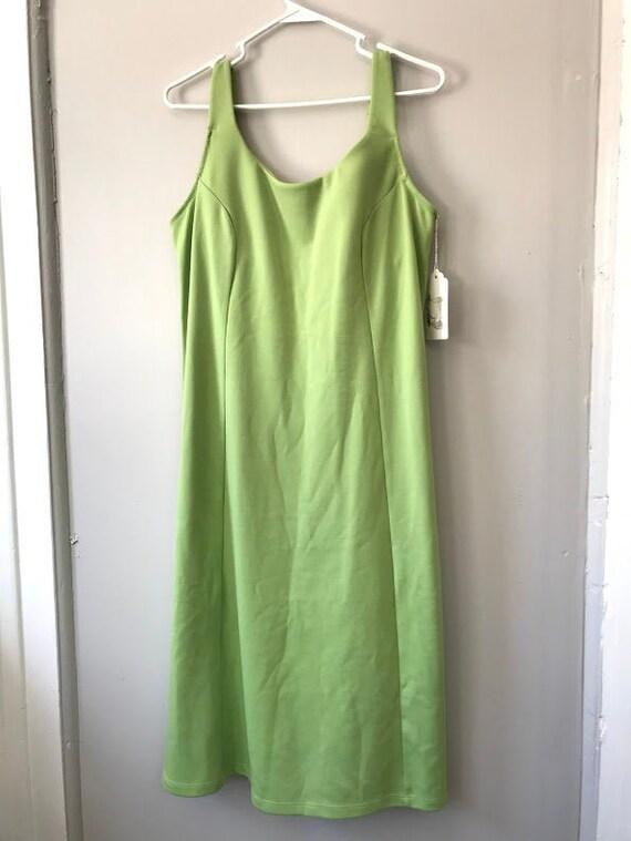 Lime Jawbreaker Tank Dress