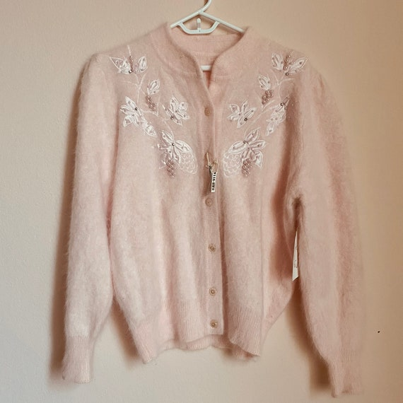 Japanese angora sweater