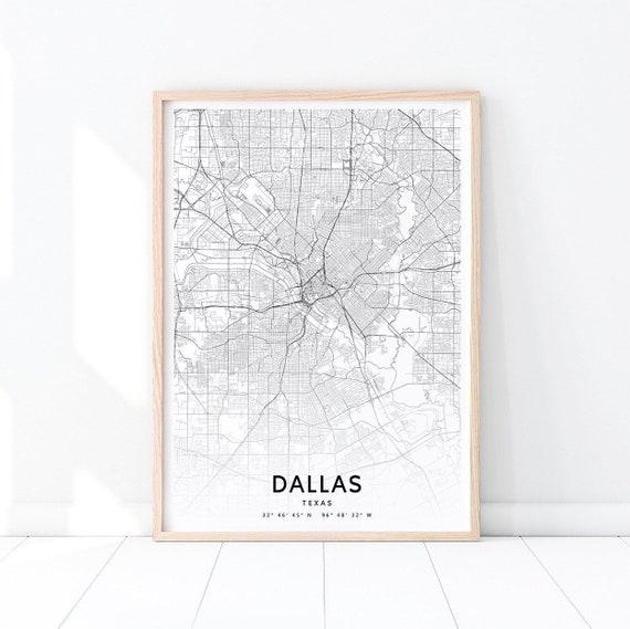 Dallas Map Print, Dallas Texas USA Map Art Poster, City Street Road on usa map waco texas, globe dallas texas, map of mountains and basins region texas, dinosaurs dallas texas, usa map corpus christi texas, weather dallas texas, texas dallas texas, world map dallas texas, usa map in dallas, usa map richmond texas, zip code map dallas texas, road map dallas texas, home dallas texas, usa map west texas, usa map big spring texas, ball dallas texas, great coastal plains of texas, center tx map texas, map of mountains in texas,