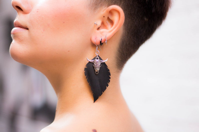 Buffalo Earring