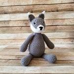 Toy Wolf - Stuffed Wolf - Wolf Plushie - Husky Plushie