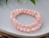 Mother of Pearl Bracelet - Light Pink Mother of Pearl -