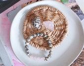 Love & Happiness Bracelet - Rose Quartz - Dalmatian Jasper