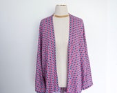 Womens Deco Print - Kimono - Boho Cover Up