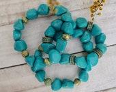 Womens Turquoise Bracelet