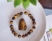 Tigers Eye Bracelet - Confidence - Courage - Power - Women's Bracelet