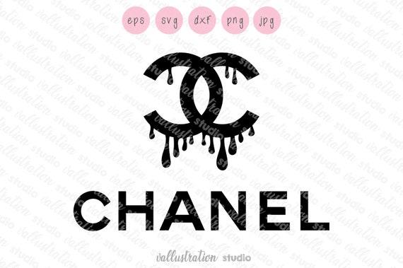 Chanel Drip Svg Free
