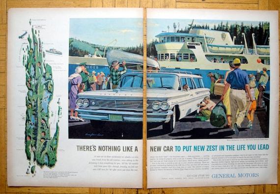 1960 Pontiac Bonneville Convertible Why Ladies Like Vintage Print Ad