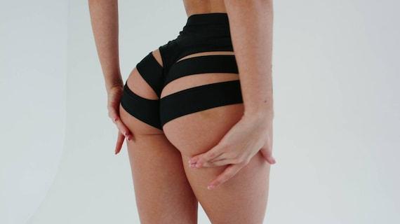 Schwarz Sexy Mädchen Twerking