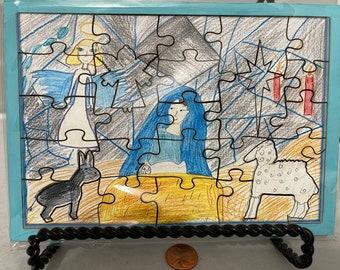 Olga's Nativity-Tray Puzzle