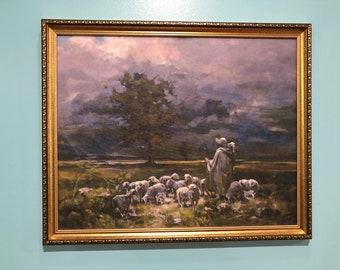 The Good Shepherd, by Alëna Pirogova