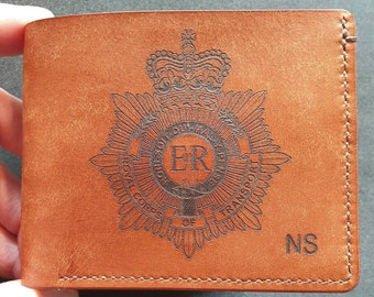 Royal Corp of Transport - Commemorative Leather Wallet