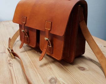 Handcrafted Leather Satchel