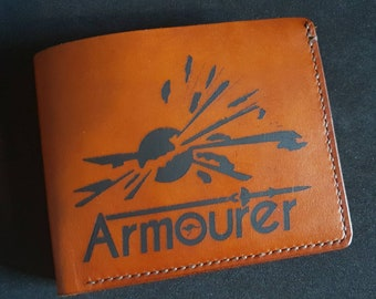 The RAAF Armourers Handcrafted Leather Wallet