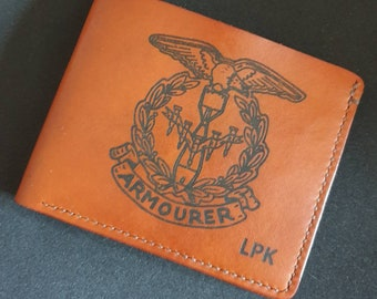 WW2 Armourers badge -  Commemorative wallet
